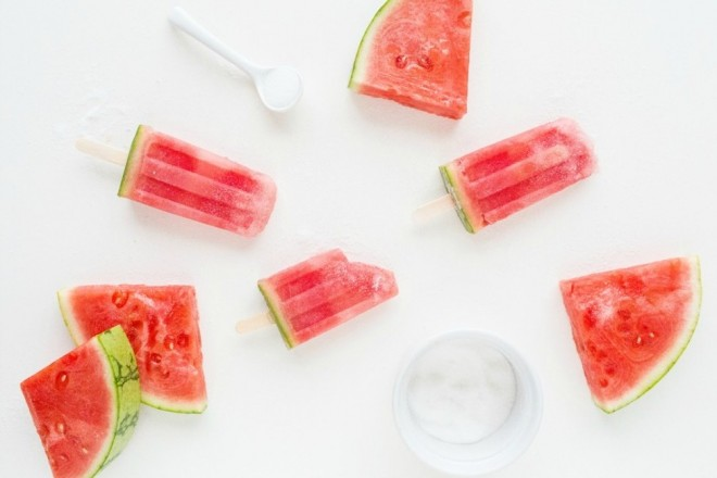 Watermelon Popsicles!