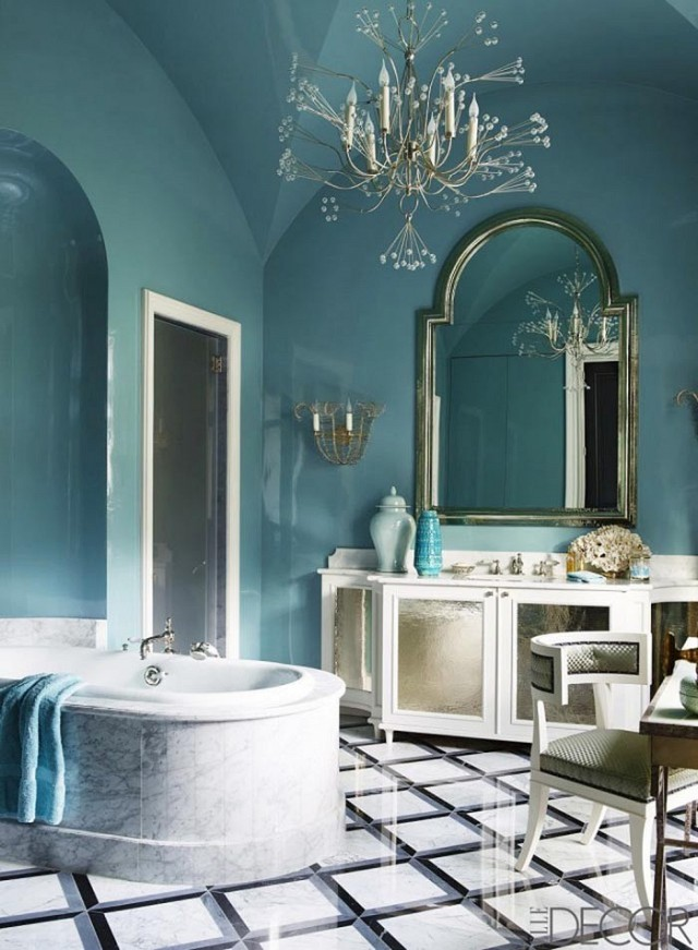 Photo: Simon Upton for Elle Decor, design by Jean-Louis Deniot